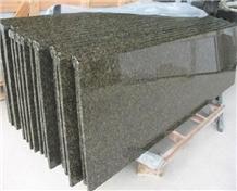 Granite Vanity Top,Green Ubatuba Bathroom Worktops