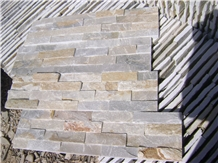 Grey Quartzite Split Cultured Stone for Wall