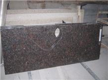 Hotel Vanity Top Granite Tan Brown Counter Tops