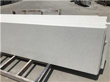 Light Dark Grey Gray Quartz Stone Slab Jumbo 3cm