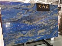 Van Gogh Blue/Quartzite Tiles & Slabs,Floor & Wall
