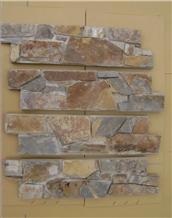 Z Shape China Rustic Slate Cultured Stone Veneer