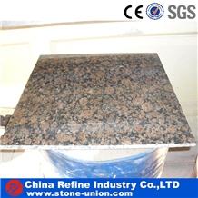 Baltic Brown Granite Polished Thin Tiles Flooring