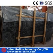 Black Wooden Marble,Antique Black Marble Tiles