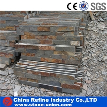 Cheap Chinese Rusty Slate Culture Stone for Wall