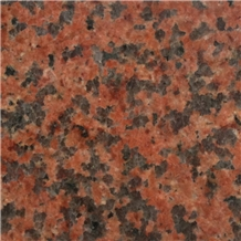 Chinese Tianshan Red Granite Floor Tile
