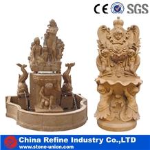 Garden Handcraft Carving Sculptured Fountain