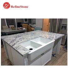 High Quality White Ice Granite Countertops/Bar Top