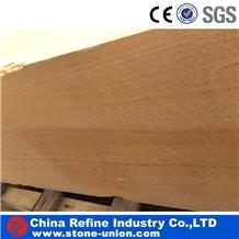 Honed Chinese Golden Sandstone Flooring Tiles