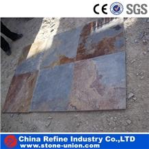 Rusty Slate Covering, Flooring, Slate Floor Tile