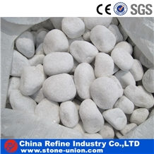 Wholesale Snow White Pebble Stone & Cobblestone