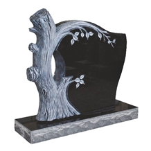 Black Granite Tombstone & Monument & Headstone