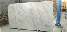 Volakas Diagonal White Marble Slabs