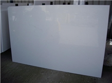 Thassos Marble Polished Slab Tiles, Red Lines