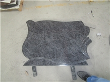 Bahama Blue Granite Headstone Manufacturer Factory