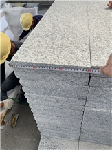 China Grey Granite Flamed Stone Steps