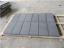 China Ken Black Granite Floor Wall Paving Tiles