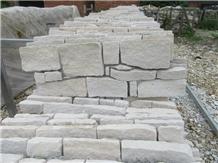 Natural White Sandstone Culture Stone Wall Panel