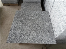 Seawave White Granite Floor Tiles Wall Application