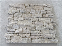 Tiger Skin Yellow Cement Stacked Stone Veneer