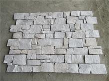 White Sandstone,Cultured Stone,Shapes Z&S,Veneer
