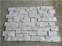 White Sandstone Cultured Stone Veneer Wall Panels