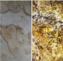 Indian Autumn Slate Stone Veneer