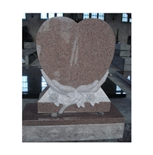 Granite Heart Tombstone Celtic Headstone Monument