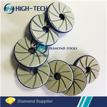 Snail Lock 5 Inch Diamond Edge Polishing Pad
