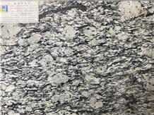 G418 New Spray White Chinese Granite Slabs Tiles