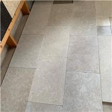 Sinai Pearl Grey Marble Tiles , Tumbled