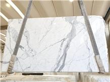 Bianco Statuario Marble Slabs, Italy Marble Slabs