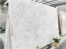 Italy Bianco Carrara C White Marble Slabs