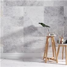 Sardis Dolomiti Grey Marble Tiles, Sardis Dolomiti Marble Slabs