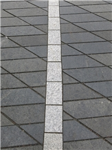 New Black Granite Santiago Pavers Tile