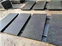 New Quarry Black Granite Pavers Tiles