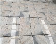 Blue Celeste Marble Tiles, Blue Solare Marble