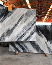Mercury Marble Slabs, Fusion Grey Marble
