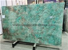 Amazon Green Amazzonite Luxury Granite Slabs Tiles