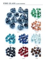 Fire Glass Stone, Glass Diamonds for Mosaic