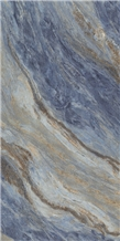 Blue Rose Marble Look Porcelain Ceramic Tiles