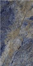 Sapphire Blue Marble Look Porcelain Ceramic Tiles