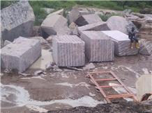 African Multicolour Granite Block, Kaduna Granite Blocks