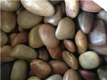 Mixed Pebble Stone River Stone Walkway Pebbles