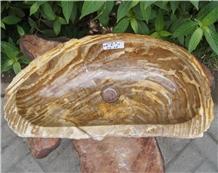 Sink Fossil Wood Petrified Wood