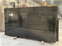 India Black Granite Slabs