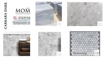 Carrara Dark Marble Slabs