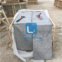 China Blue Limestone Flamed Tiles