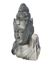 Grey Sandstone Syiwa Head