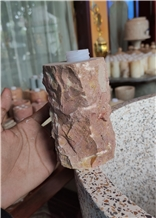 Natural Onyx Soap Container with Dispenser